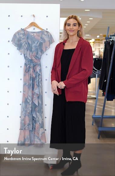 Adele Ruffle Maxi Dress, sales video thumbnail