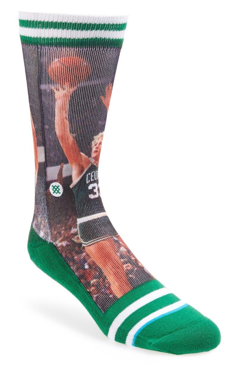 STANCE 'Larry Bird' Socks, Main, color, 300