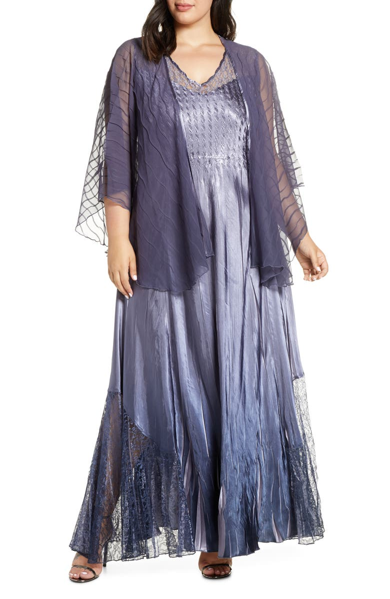Embellished Maxi Dress  for plus size