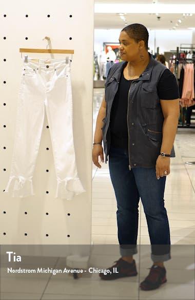 Zoe Split Hem Ruffle Jeans, sales video thumbnail