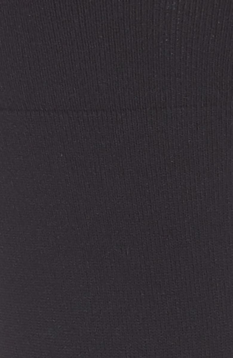 NORDSTROM Ultra Sleek Crew Socks, Main, color, 001