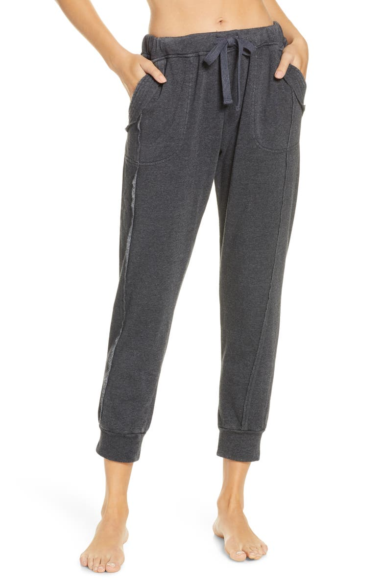 FREE PEOPLE FP MOVEMENT Work it Out Jogger Pants, Main, color, BLACK