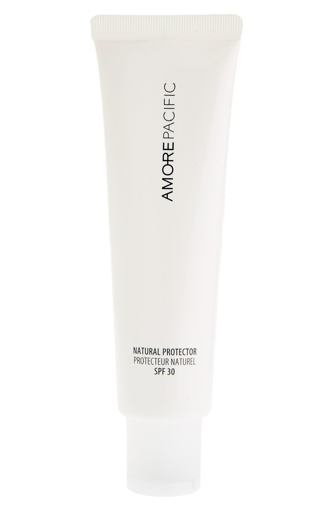 ,                             'Natural Protector' Hydrating Sunscreen SPF 30 PA+++,                             Alternate thumbnail 3, color,                             NO COLOR