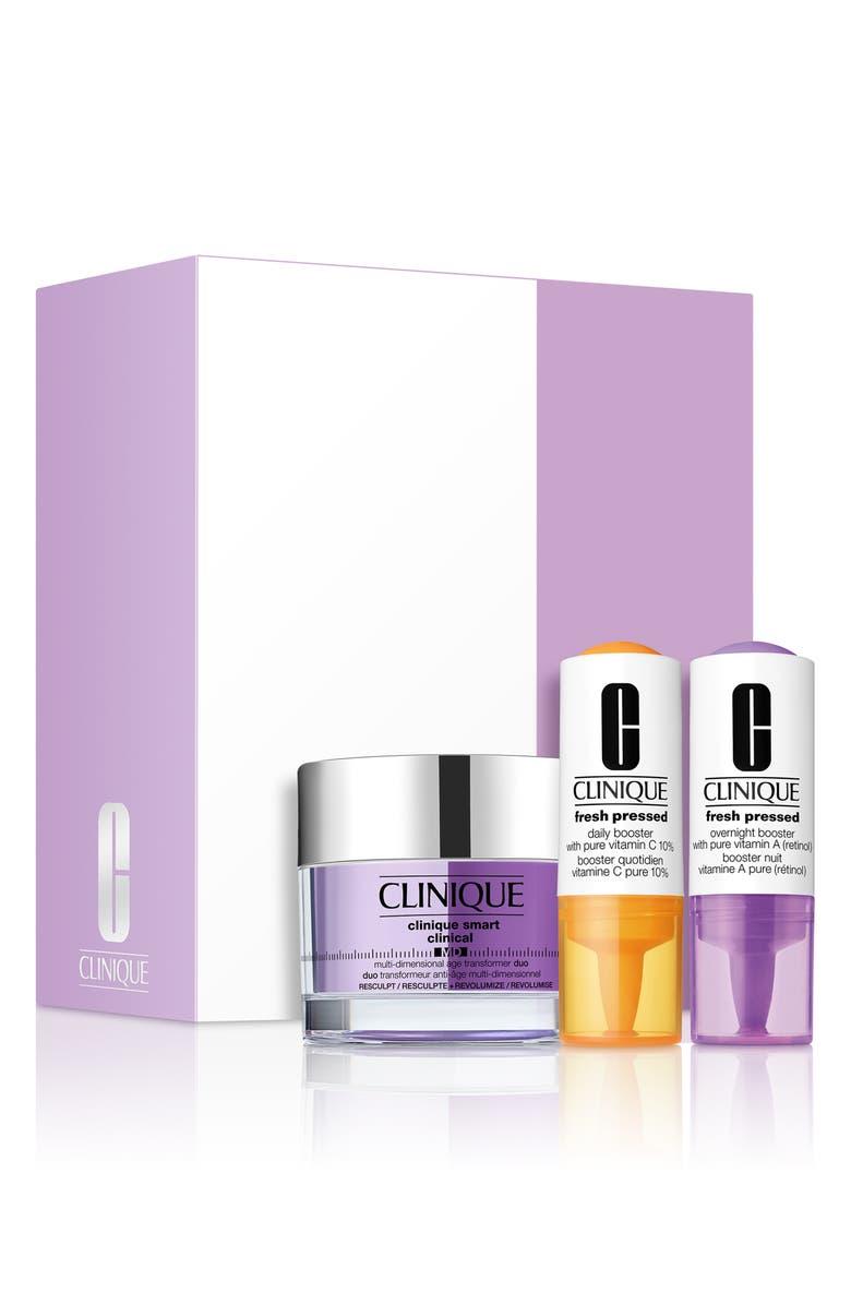 CLINIQUE Smart Clinical MD Resculpt & Revolumize Set, Main, color, NO COLOR