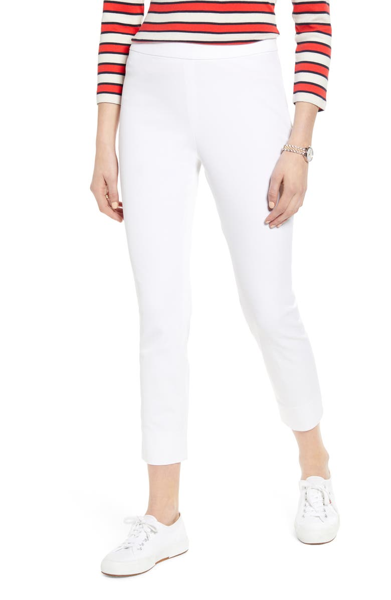 1901 4-Way Stretch Ankle Skinny Pants, Main, color, WHITE