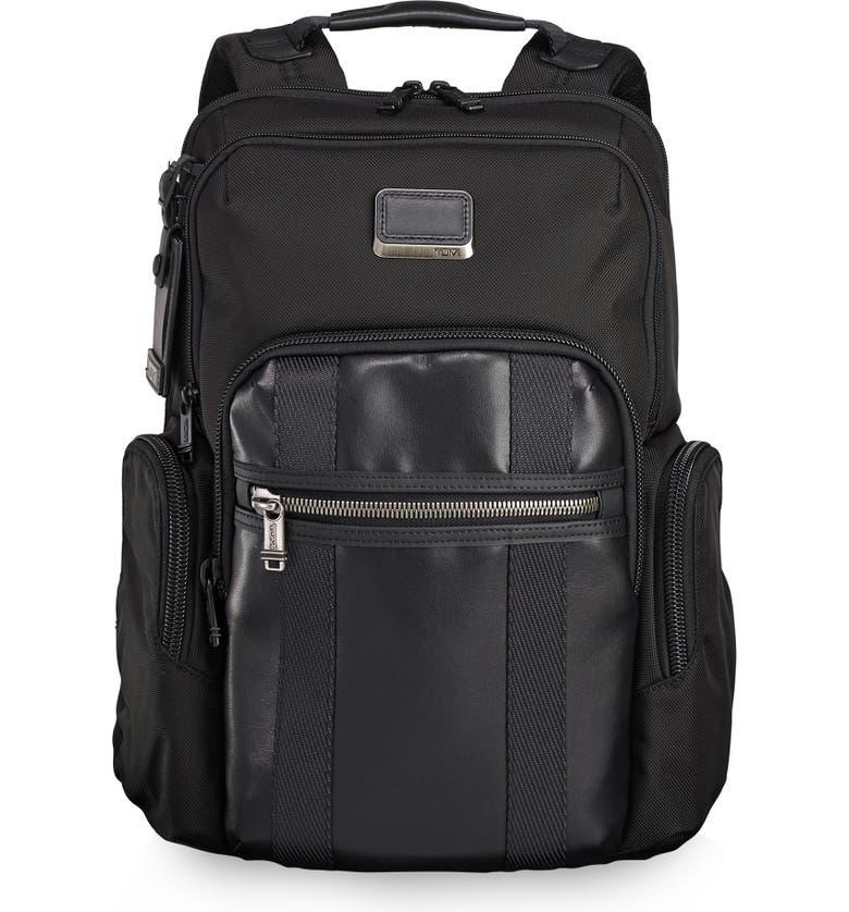 TUMI Alpha Bravo - Nellis Backpack, Main, color, BLACK