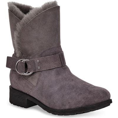 UGG Bodie Moto Boot, Grey