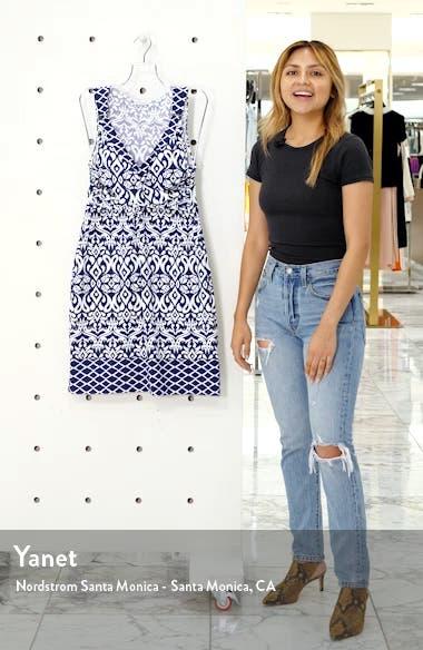 Ikat Diamond Cover-Up Dress, sales video thumbnail