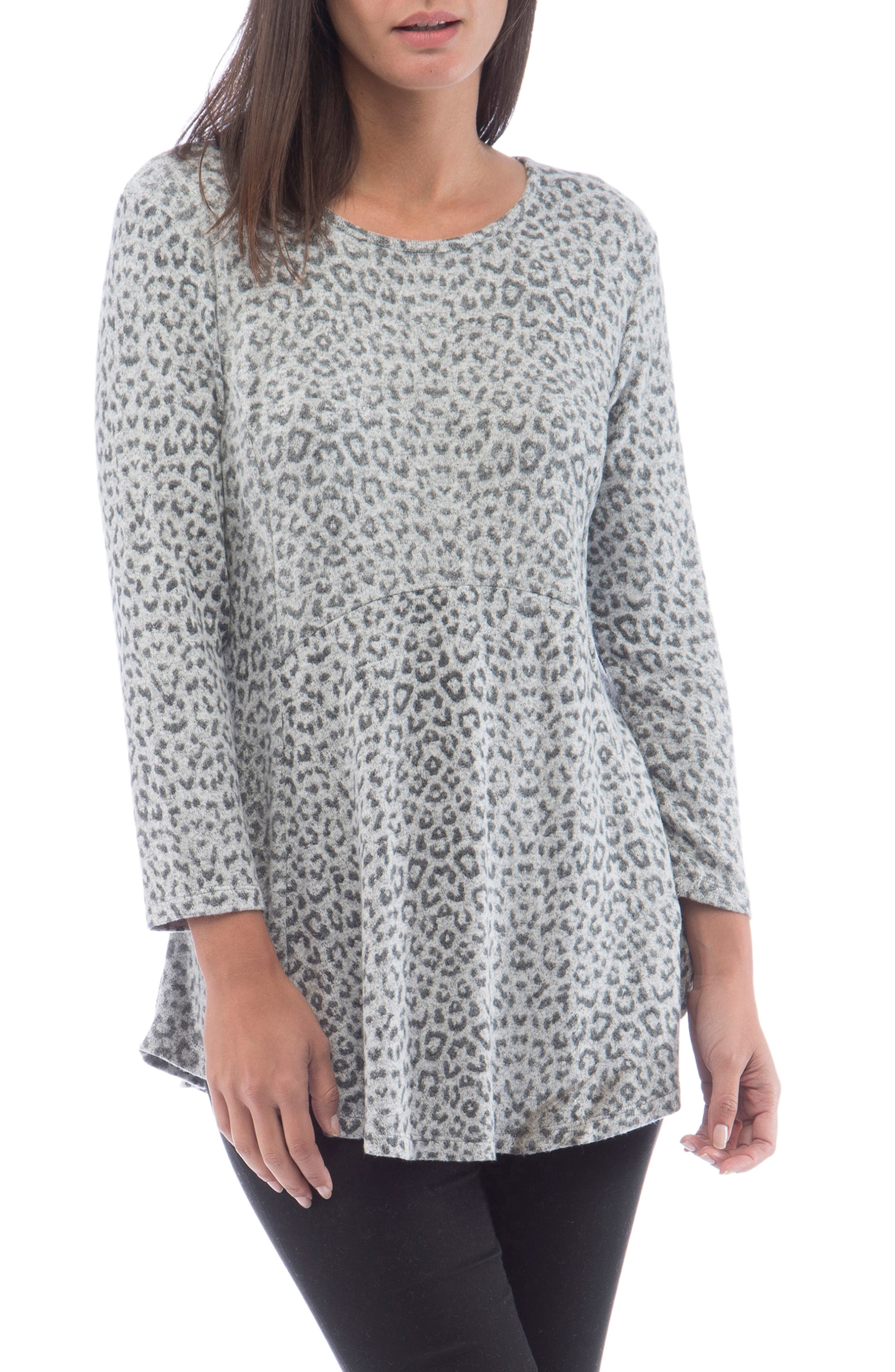 With an easy, curve-skimming fit and soft brushed-knit fabric, this relaxed top won\\\'t have time to migrate to the back of your closet. Style Name: Bobeau Brushed Babydoll Tunic. Style Number: 5744226. Available in stores.
