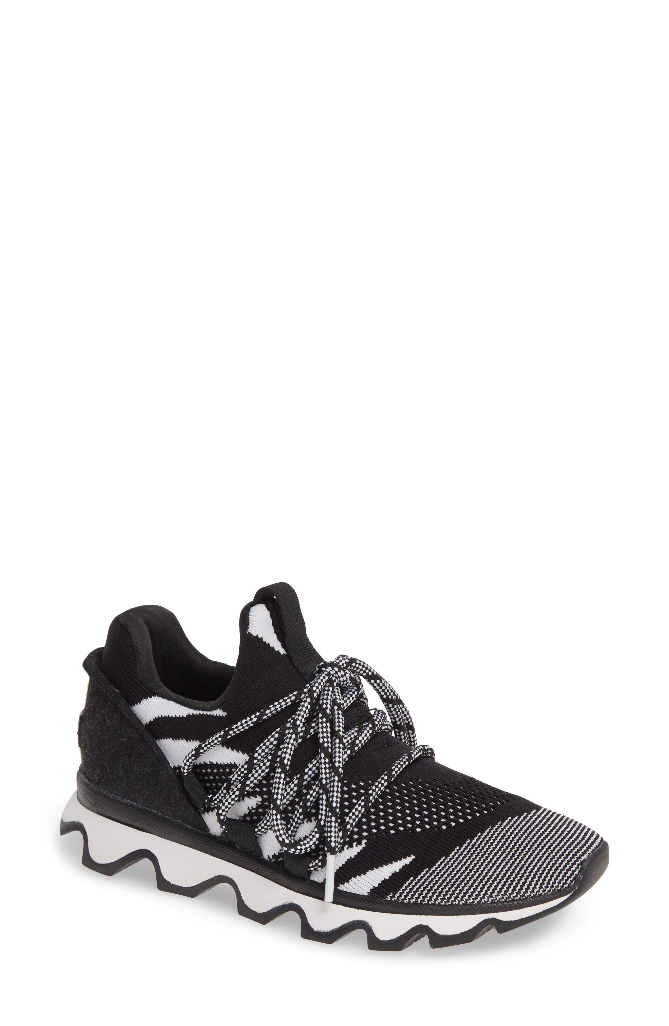 Sorel Kinetic Laces Knit Sneaker