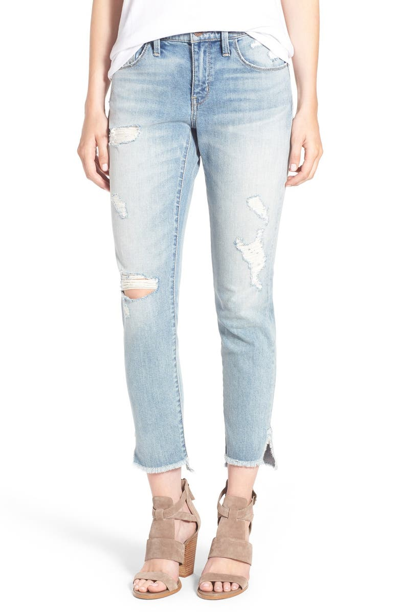 TREASURE & BOND Treasure&Bond Ankle Boyfriend Skinny Jeans, Main, color, 400