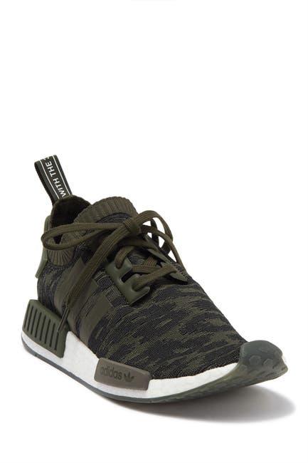 Image of adidas NMD_R1 Primeknit Night Cargo Sneaker