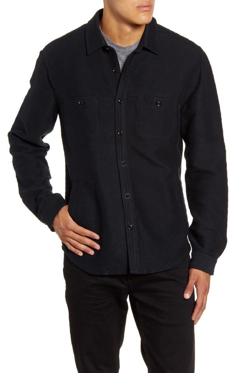 LIFE/AFTER/DENIM Shoreditch Regular Fit Shirt Jacket, Main, color, 001