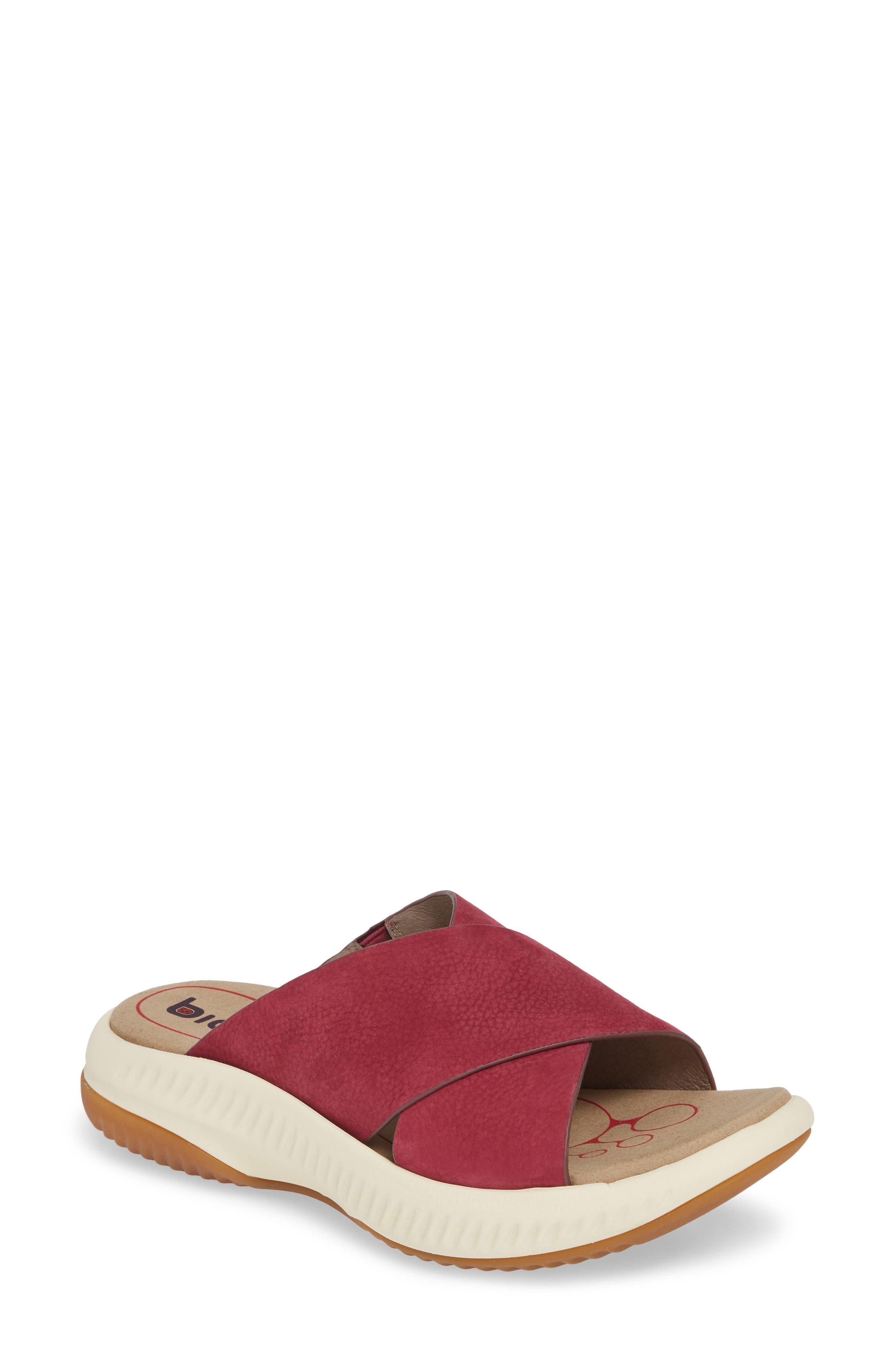 Bionica Ambridge Slide Sandal- Pink