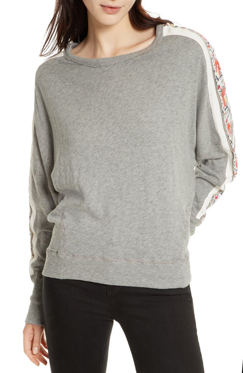 FREE PEOPLE Wallflower Pullover, Main, color, 030
