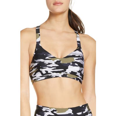 The Upside Sophie Pearly Camo Sports Bra