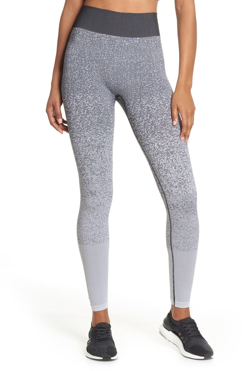 ADIDAS Believe This Primeknit High Waist Yoga Tights, Main, color, 001