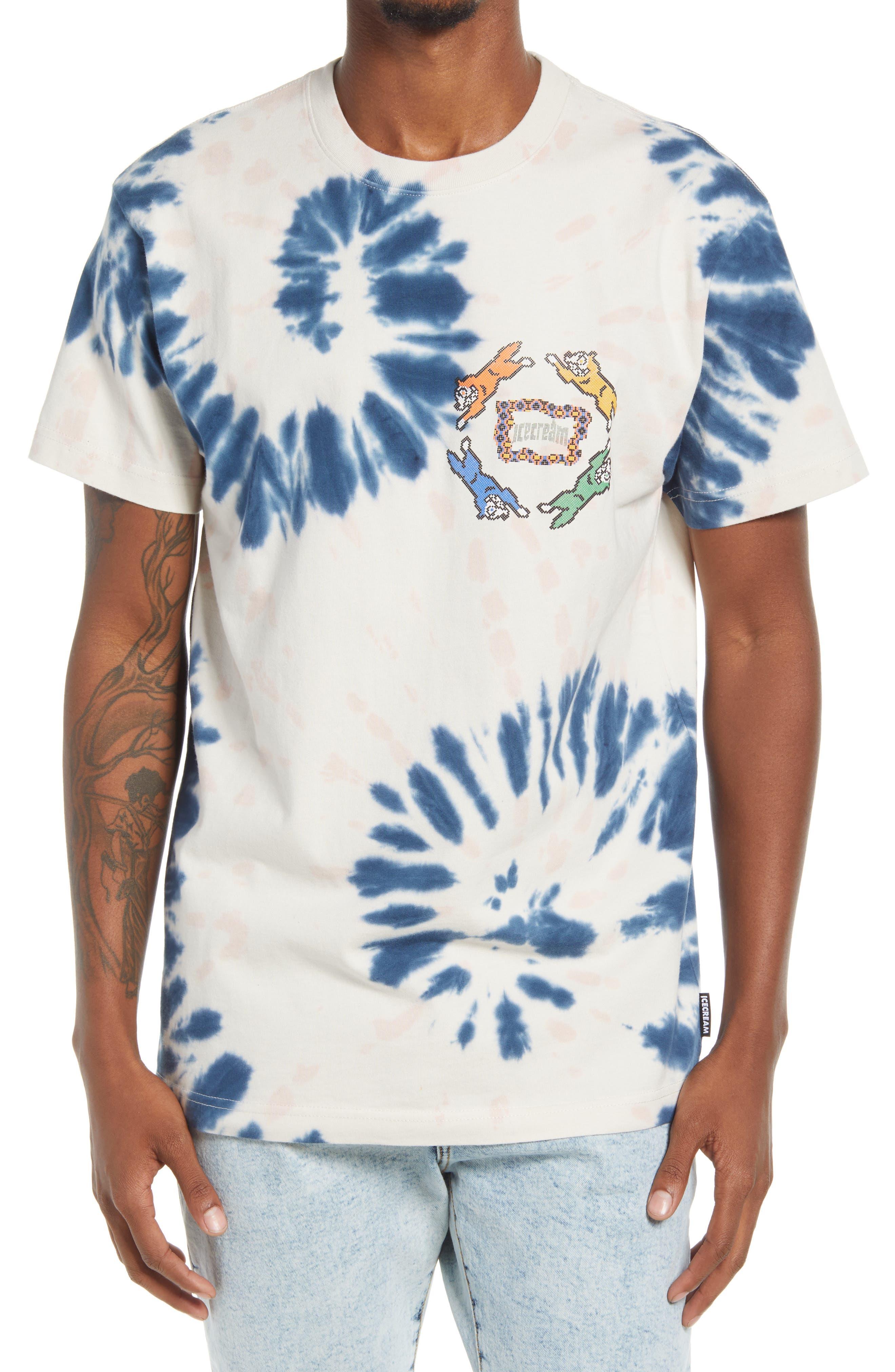 Men's Circle Tie Dye T-Shirt