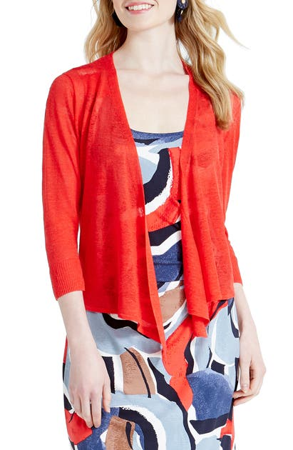 Nic + Zoe 4-WAY CONVERTIBLE THREE QUARTER SLEEVE CARDIGAN