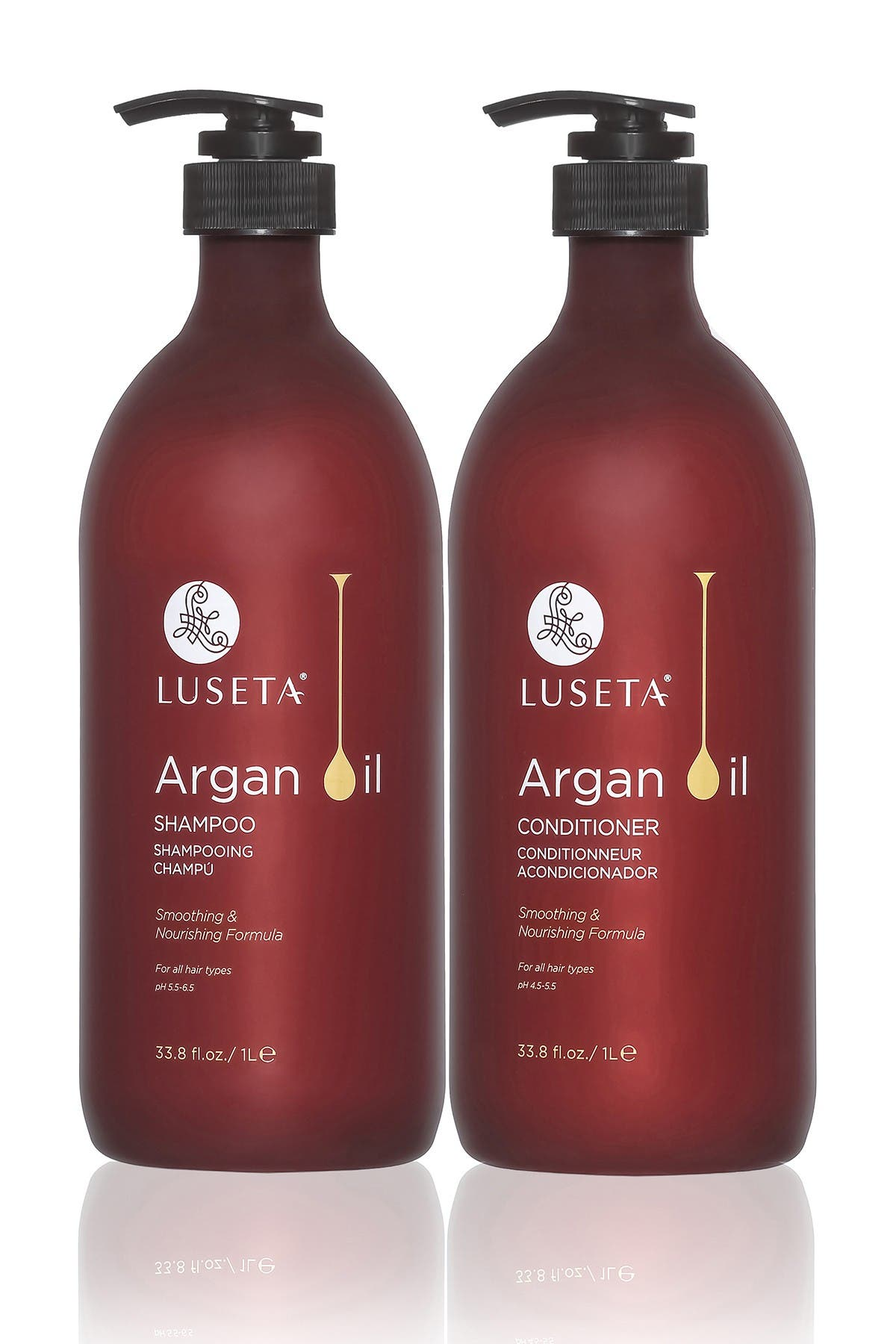 Image of Luseta Beauty Argan Oil Moisture Shampoo & Conditioner 2-Piece Set - 33.8 oz.