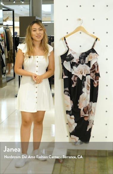 Austin Cold Shoulder Floral Dress, sales video thumbnail