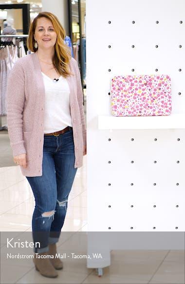marker floral universal laptop sleeve, sales video thumbnail