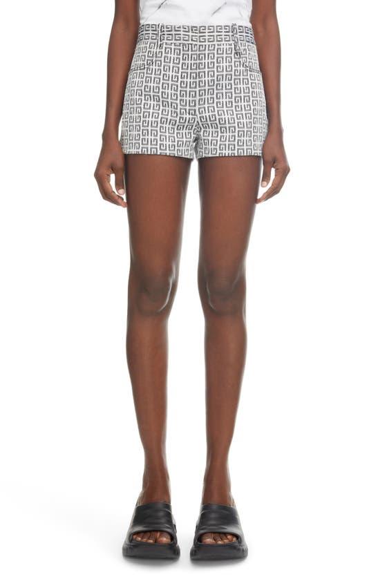 Givenchy Shorts 4G LOGO JACQUARD SHORTS