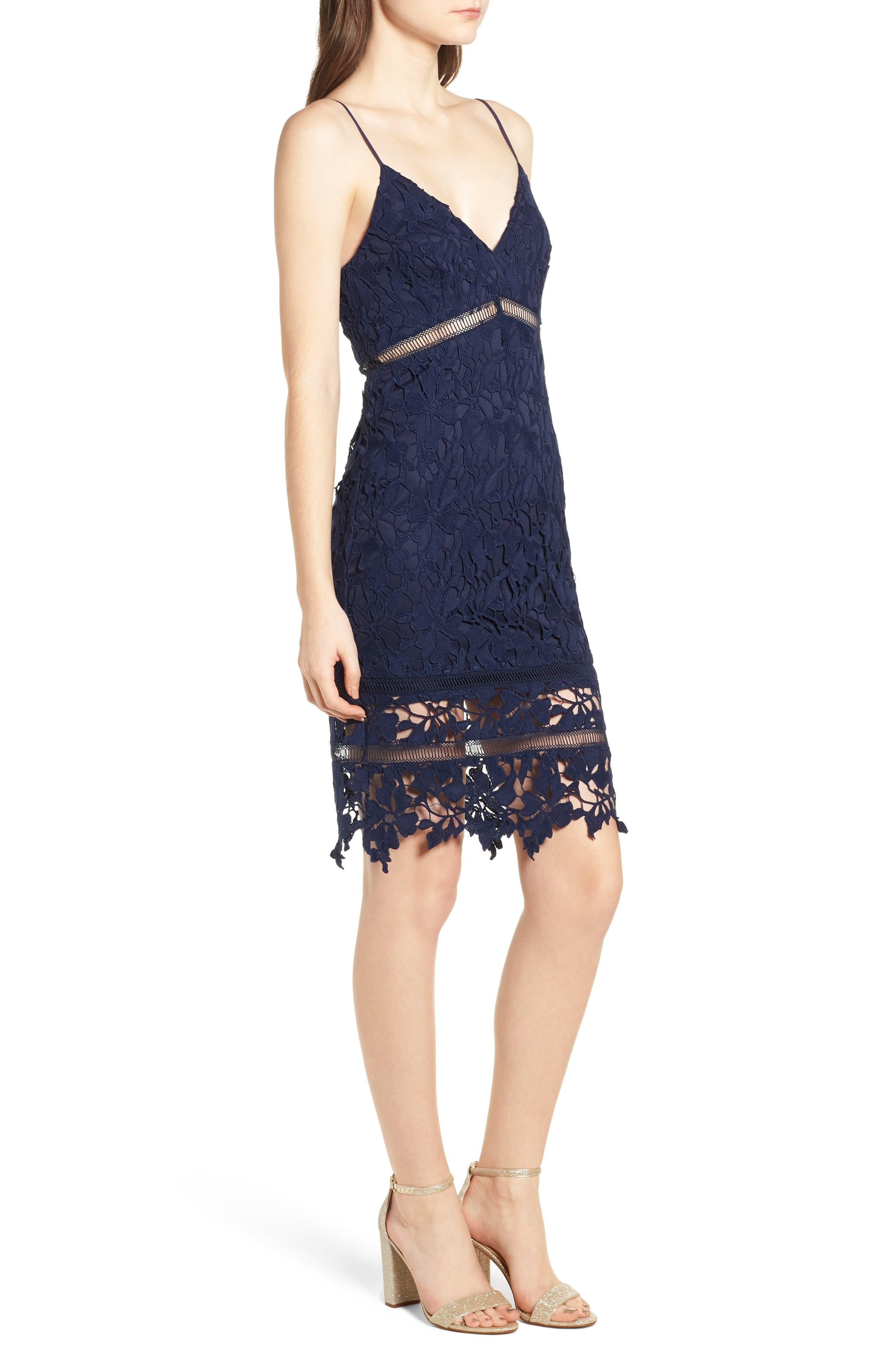 ,                             ASTR Lace Bodycon Dress,                             Alternate thumbnail 10, color,                             400