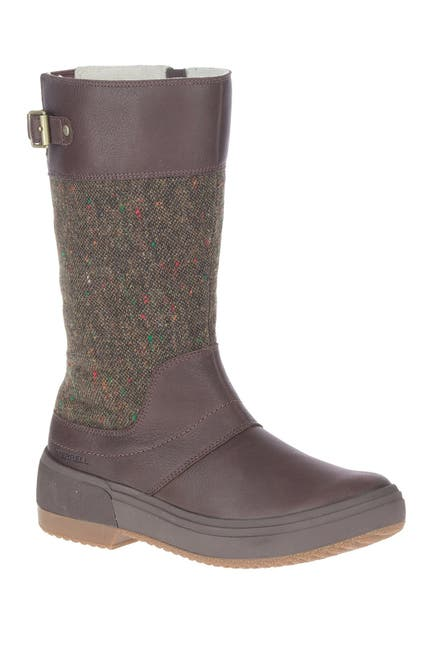 Image of Merrell Haven Tall Buckle Strap Boot