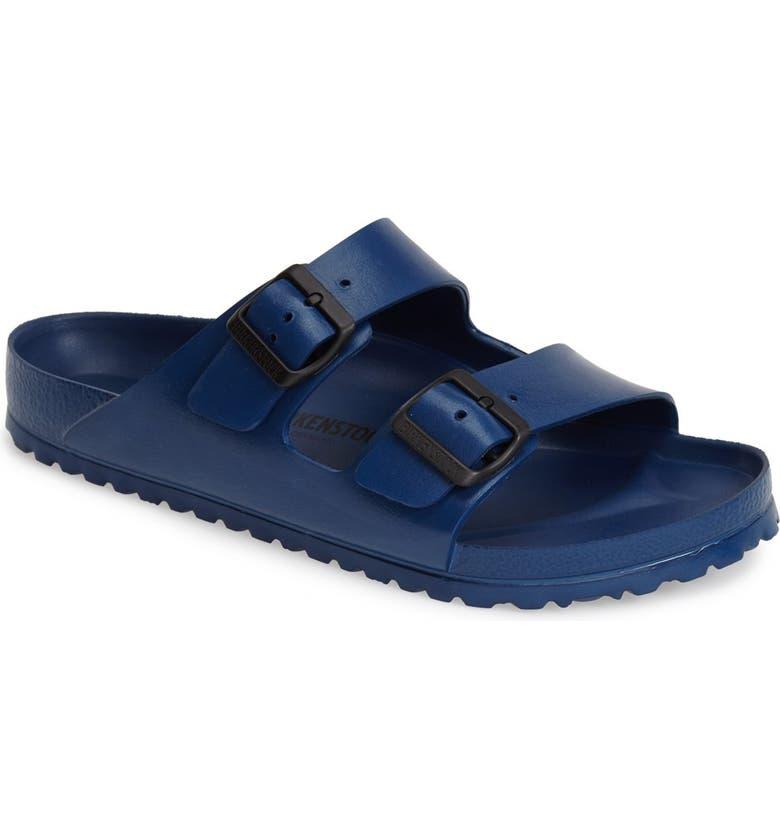 BIRKENSTOCK Essentials - Arizona EVA Waterproof Slide Sandal, Main, color, NAVY