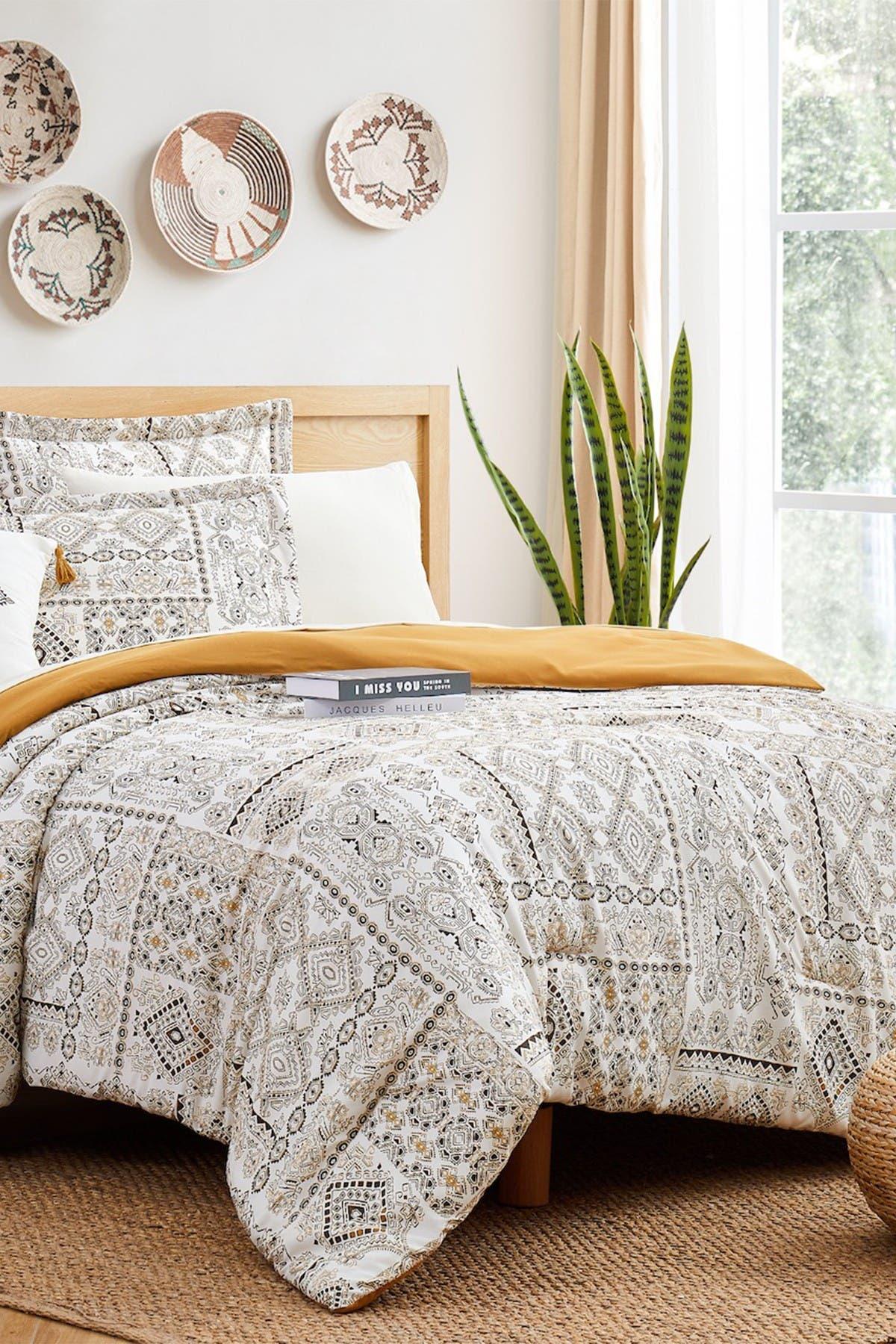 Image of Modern Threads Complete 6-Piece Bedding Set - Isla - Twin