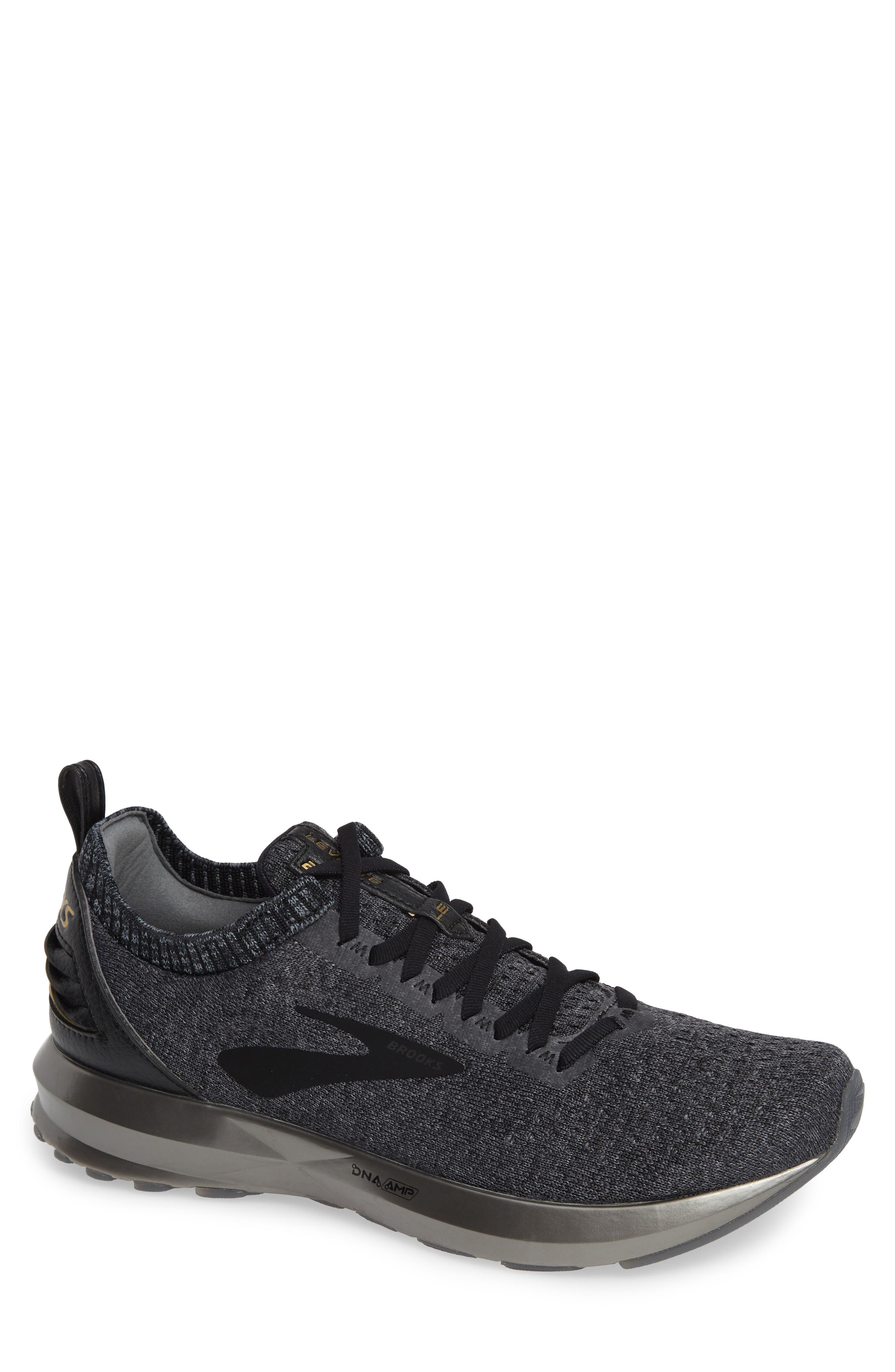 Levitate 2 LE Running Shoe, Main, color, BLACK/ GREY/ GOLD