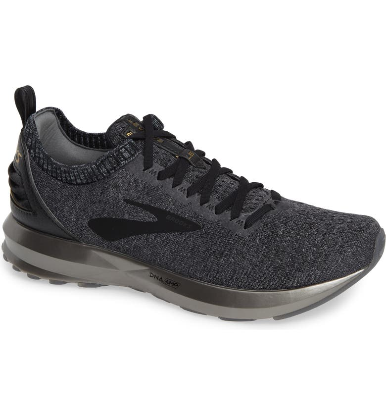 BROOKS Levitate 2 LE Running Shoe, Main, color, BLACK/ GREY/ GOLD
