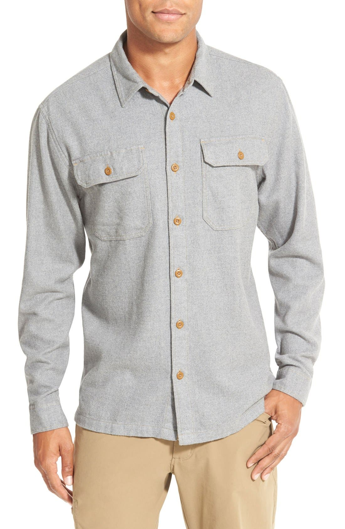 ,                             'Fjord' Regular Fit Organic Cotton Flannel Shirt,                             Main thumbnail 70, color,                             024