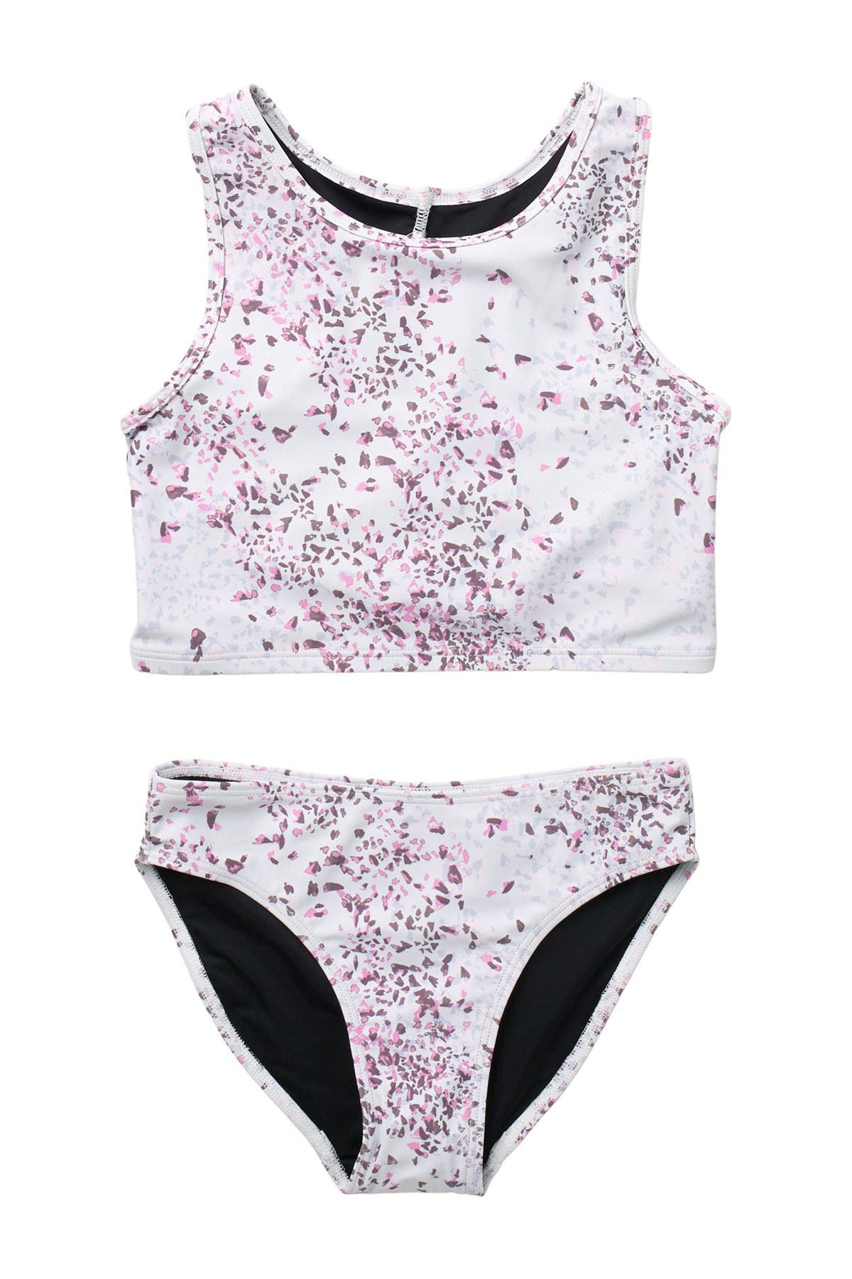 Image of Z by Zella Girl Reflect 2-Piece Printed Swimsuit