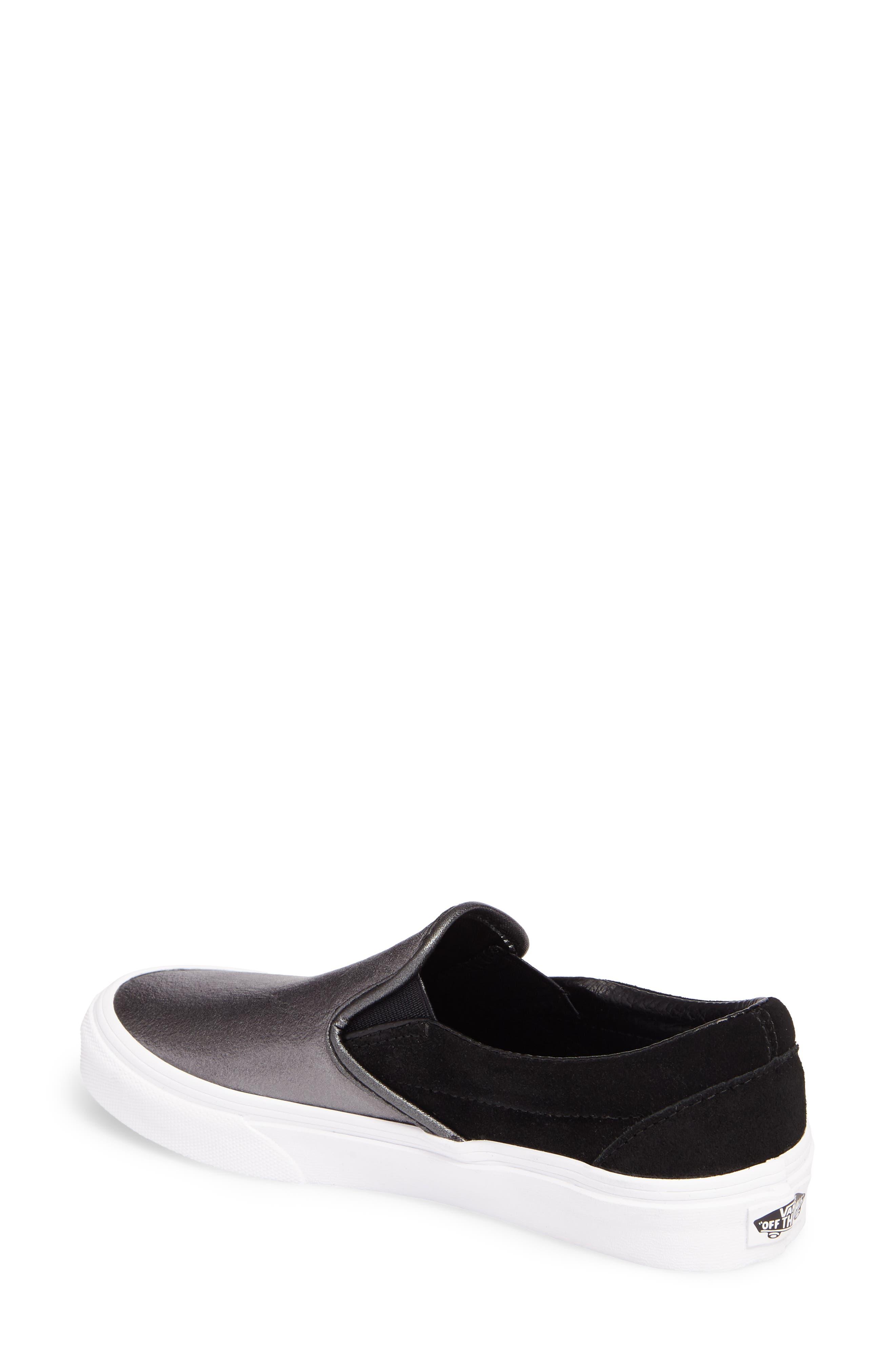 ,                             Classic Slip-On Sneaker,                             Alternate thumbnail 76, color,                             018