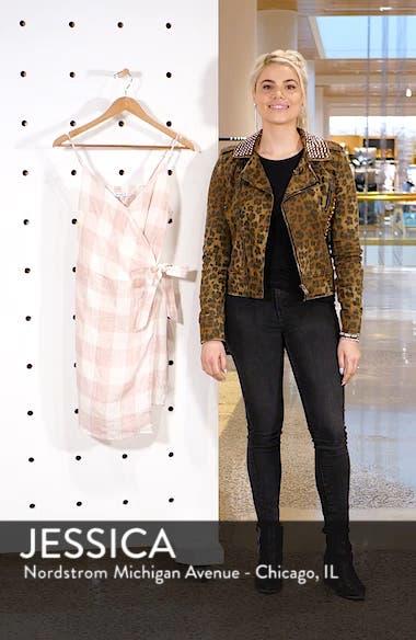 Whyatt Check Wrap Dress, sales video thumbnail