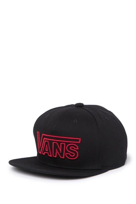 Image of VANS Drop Embroidered Logo Baseball Cap