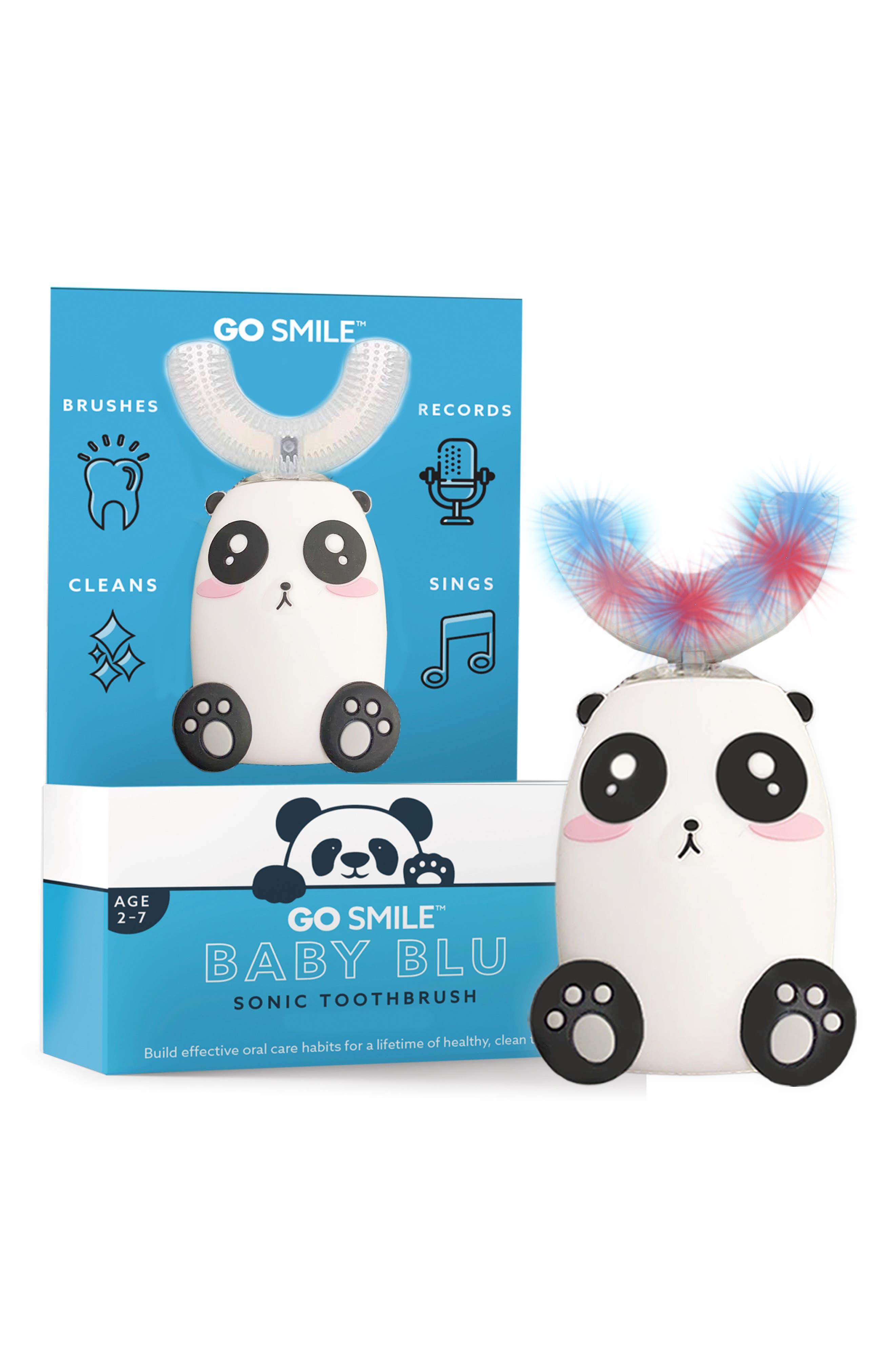 Go Smile Baby Blu Pepper The Panda Interactive Sonic Toothbrush