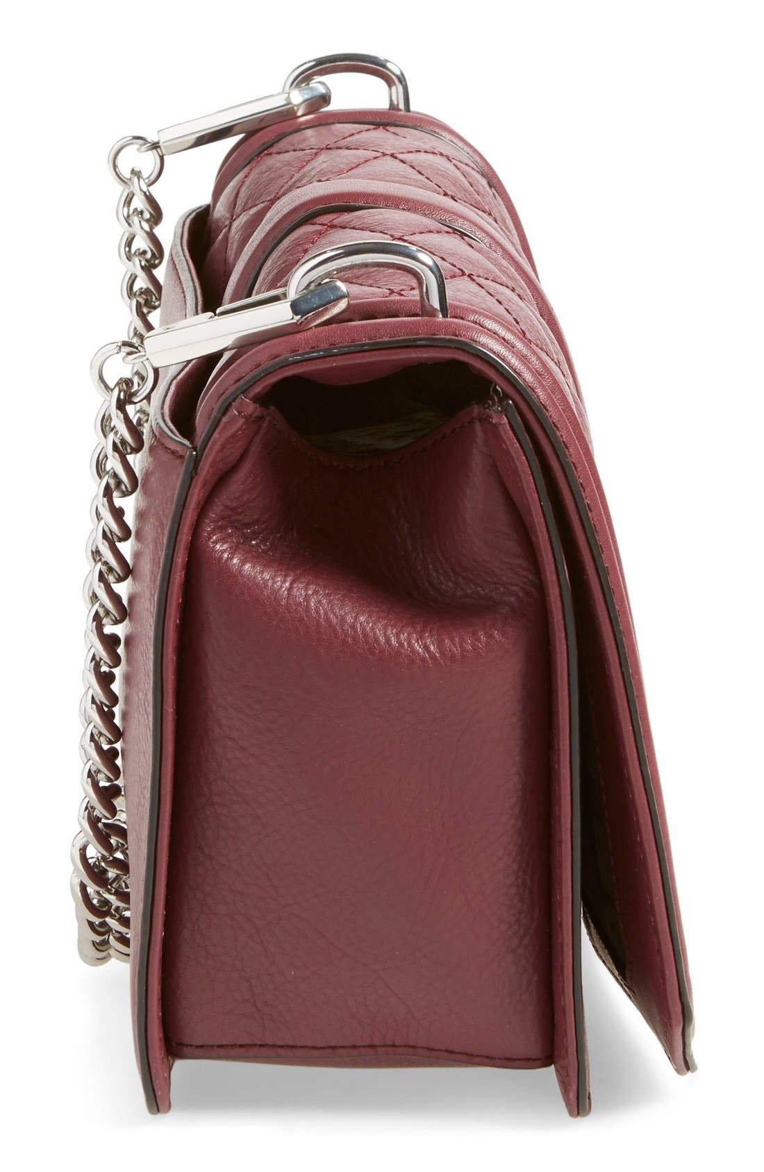,                             Love Leather Crossbody Bag,                             Alternate thumbnail 155, color,                             930