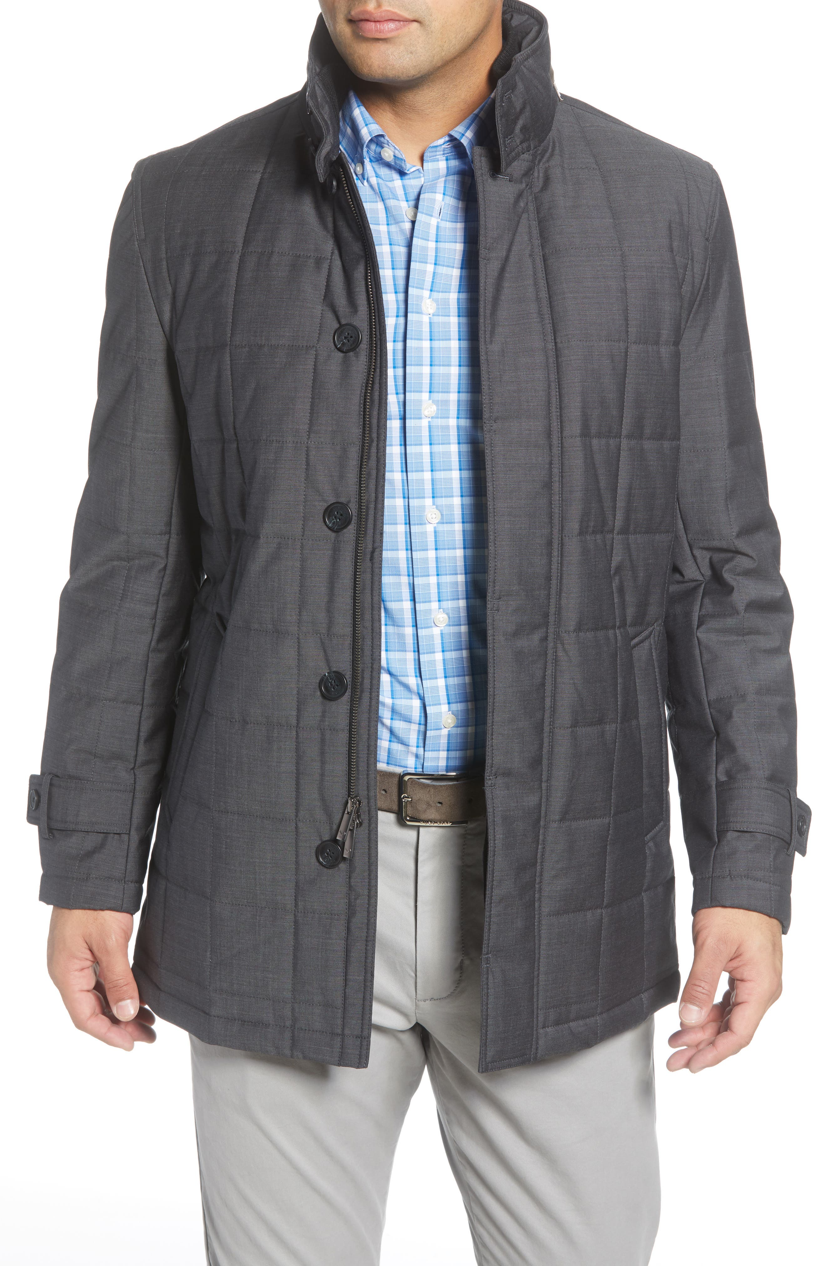 Image of Cardinal of Canada Quilted Car Coat