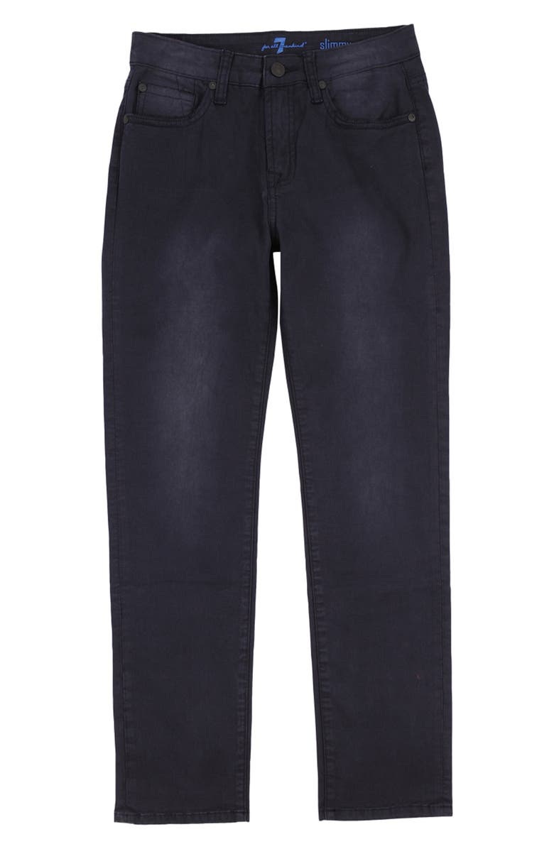 7 FOR ALL MANKIND<SUP>®</SUP> Slimmy Jeans, Main, color, BLACK OUT