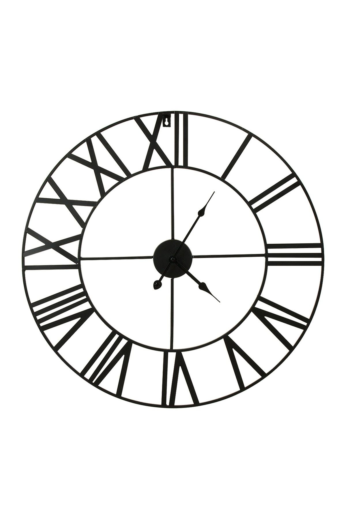 Image of Sorbus Black Wall Clock