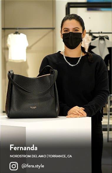 knott large leather shoulder bag, sales video thumbnail