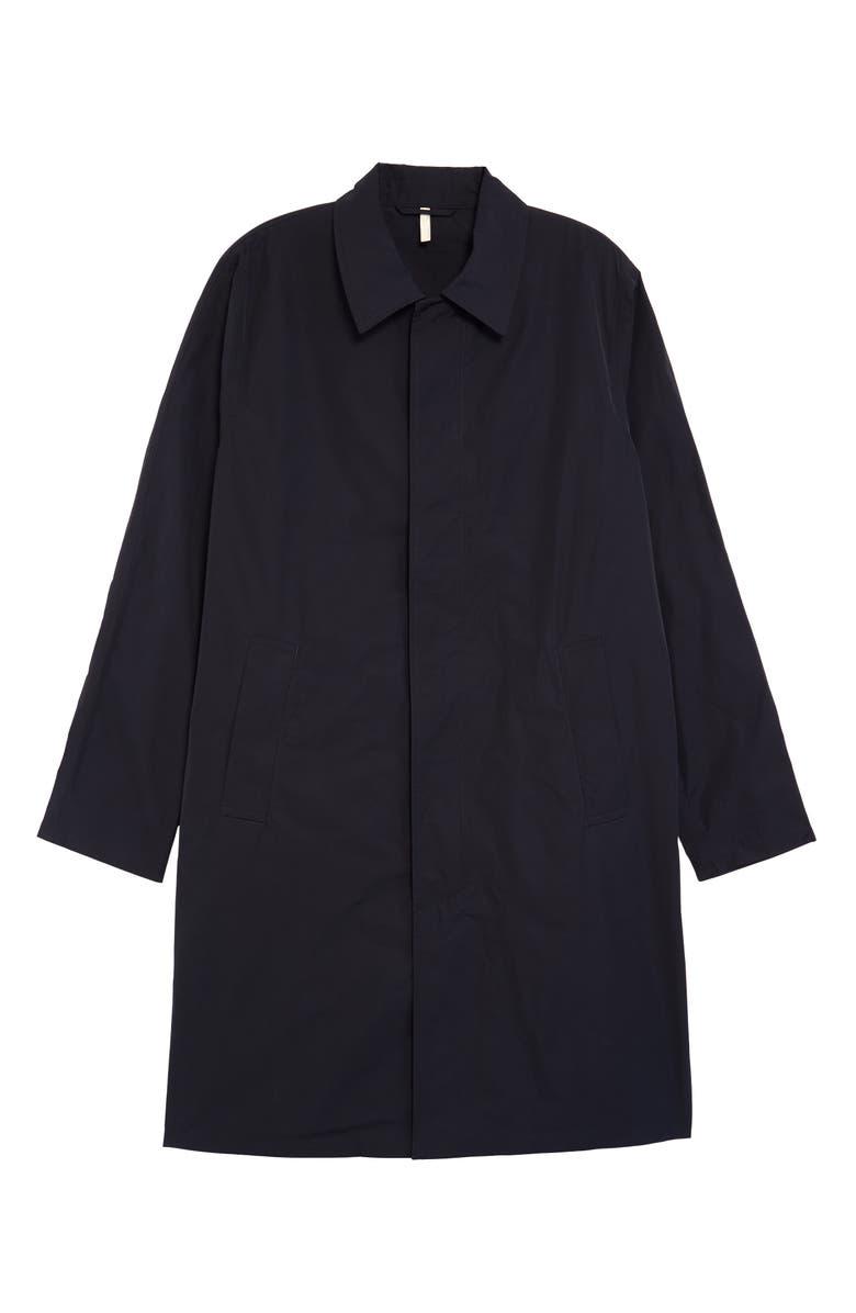 SUNFLOWER Storm Coat, Main, color, NAVY