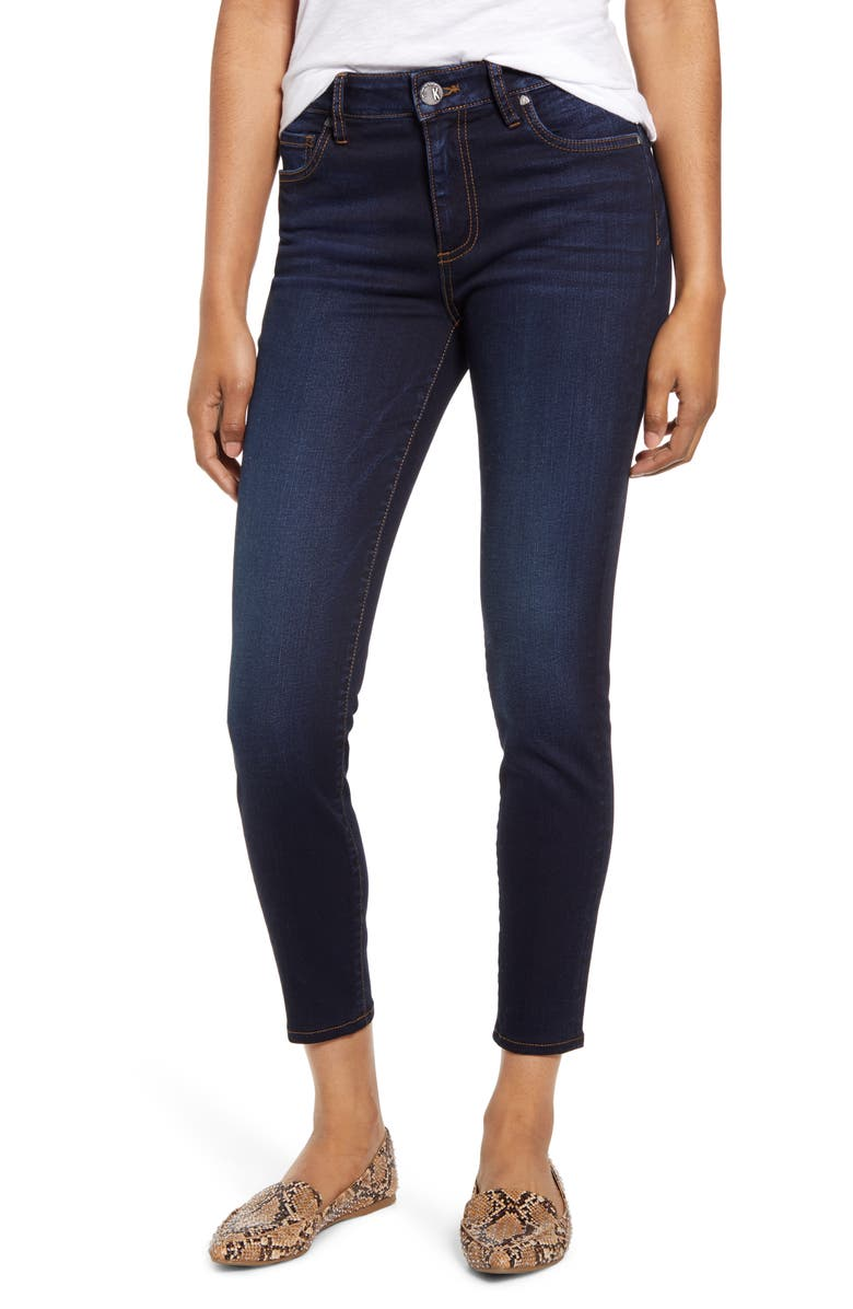 KUT FROM THE KLOTH Donna High Waist Skinny Jeans, Main, color, TRANSFORMATIVE