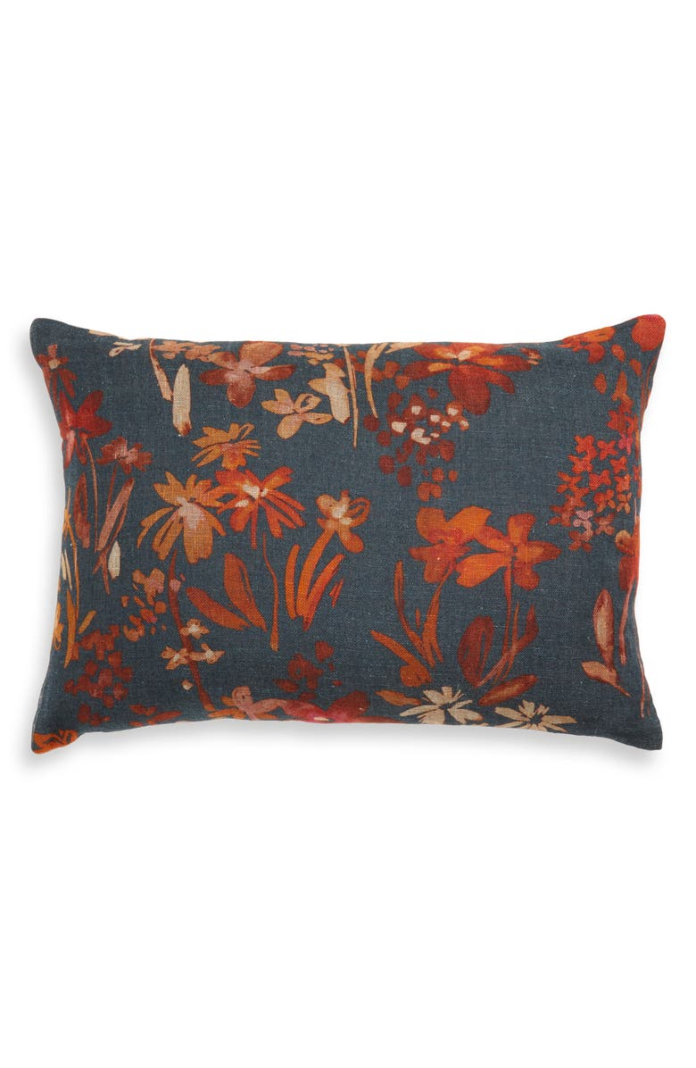 TREASURE & BOND Harvest Accent Pillow, Main, color, NAVY MIDNIGHT MULTI