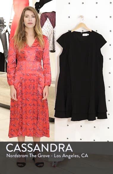 Crepe Drop Waist Dress, sales video thumbnail