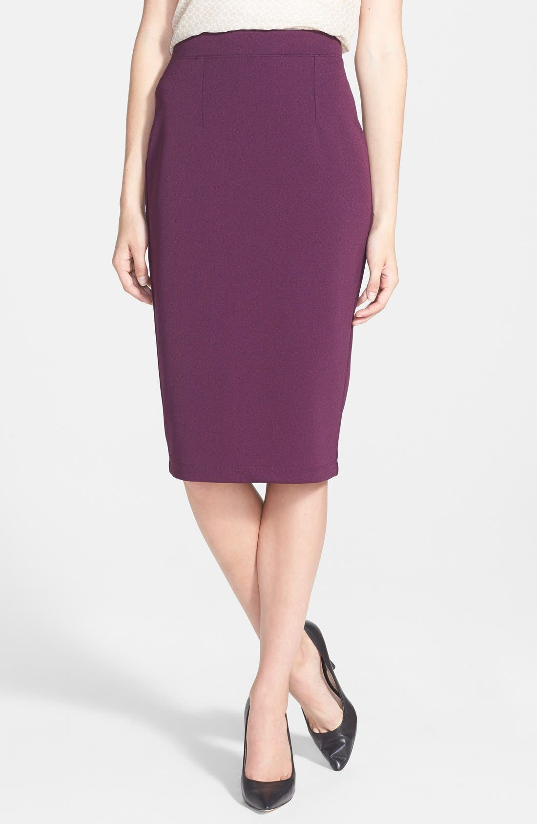 ,                             Zip Back Knit Pencil Skirt,                             Main thumbnail 15, color,                             540