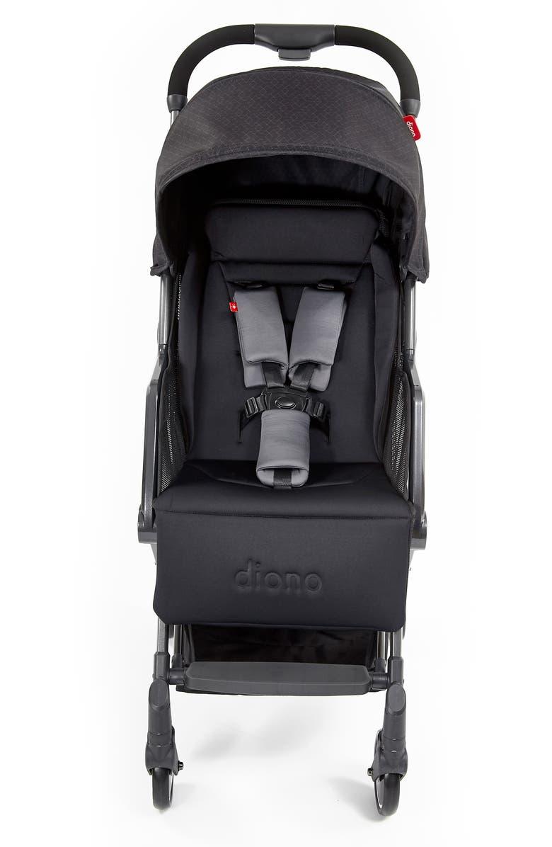 DIONO Traverze Editions Super Compact Stroller, Main, color, BLACK CUBE
